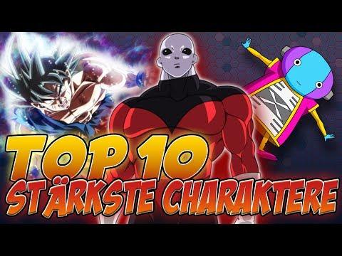 Die 10 Stärksten Charaktere aus Dragonball Super!   SerienReviewer