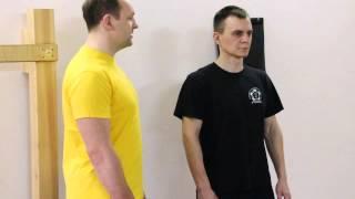 Уроки Вин Чунь  Базовая техника  Учебное положение рук Вин Чунь