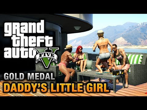 GTA 5 - Mission #7 - Daddy's Little Girl [100% Gold Medal Walkthrough]