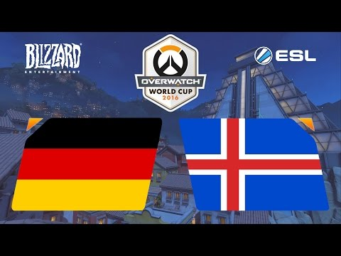 Iceland vs Germany - OW World Cup Europe Qualifier - G2