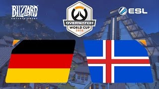 Overwatch - Germany vs. Iceland - Overwatch World Cup - Playoffs