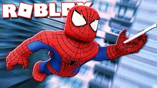 SPIDERMAN IN ROBLOX!?