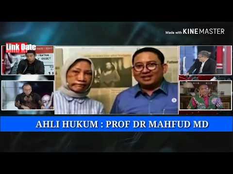 Tanggapan Budiman Sudjatmiko,Prof DR Mahfud MD Kebohongan Ratna Sarumpaet