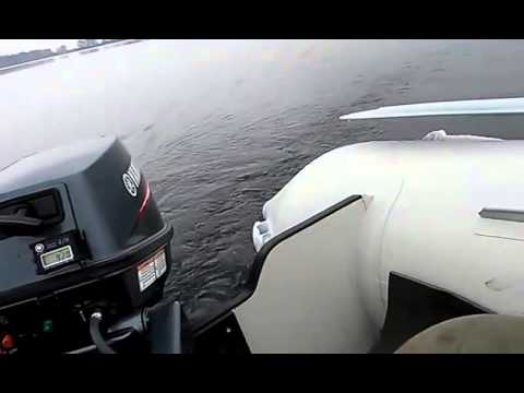 Лодка с надувным дном Navigator 360 Air + Yamaha 8