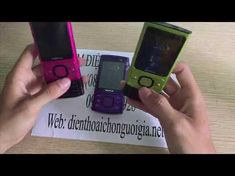 Điện thoại Nokia 6700 slide nắp trượt đầy đủ màu sắc