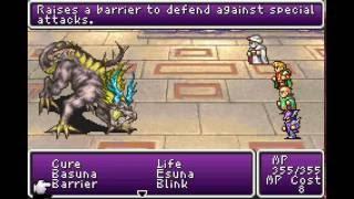 Final Fantasy II Dawn of Souls GBA - Ultima Weapon