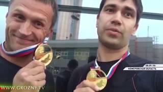 Команда федерации парашютного спорта Чечни готовится к Чемпионату Мира