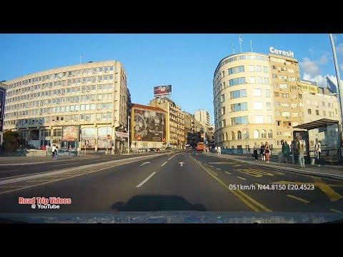 driving in Belgrade and New Belgrade / September 2018 / Serbia
