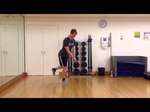 Melbourne Golf Fitness Specialist Personal Trainer – Single Leg Balance with Narrow Base