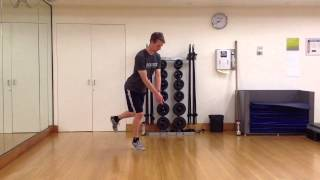 Melbourne Golf Fitness Specialist Personal Trainer - Single Leg Balance with Narrow Base