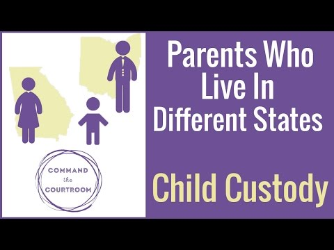 Child Custody When Parents Live in Different States - YouTube