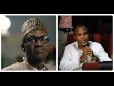President Buhari Ask Court To Re-arrest Nnamdi Kanu (Watch Video)