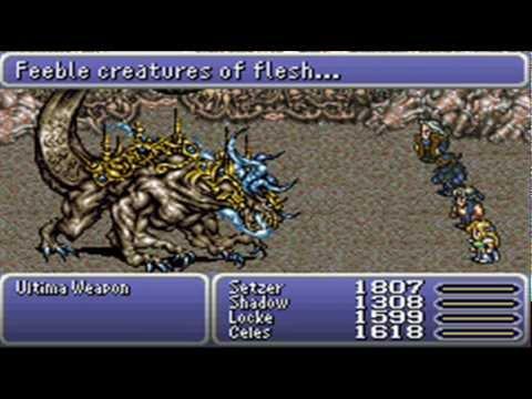 Let's Play Final Fantasy VI Advance Part 55: The Ultima-te Battle