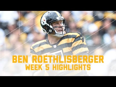 Ben Roethlisberger Goes for 380 Yards and 4 TDs! | Jets vs. Steelers | NFL Week 5 Player Highlights