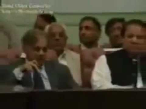 Nawaz  sharef   shahbaz shareef insult