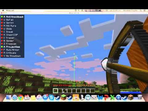 Poner hacks para minecraft 1.8 (MAC)