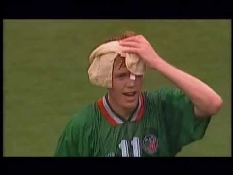 World Cup USA 1994, Group E: Italy 0 - 1 Ireland (Giants Stadium, East Rutherford)