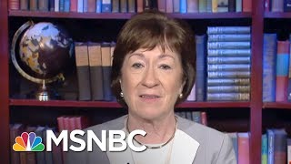 Senator Susan Collins: Every Single Word The President Says Matters | Morning Joe | MSNBC