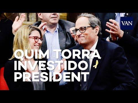 Quim Torra es el nuevo president de la Generalitat de Catalunya