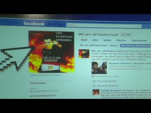 CNN: Egypt, The power of social media