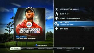 Tigerwoods PGA TOUR 14, Gameplay and Features