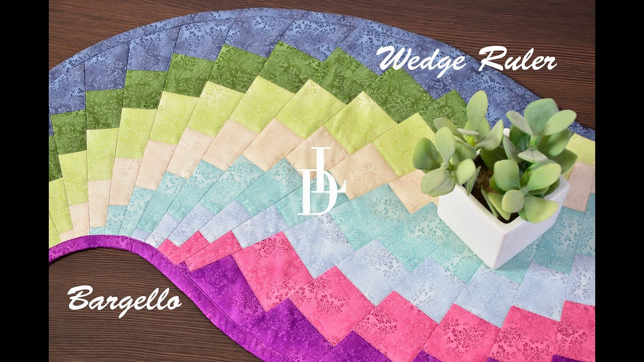 Patchwork Bargello Wedge Ruler Youtube