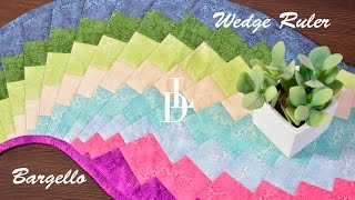 Patchwork Bargello -  Wedge Ruler