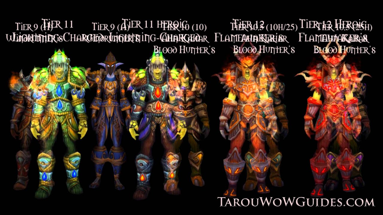 sc 1 st  YouTube & Cata - Dragon Soul: Deathwing Tier 13 Armor Sets Preview! - YouTube