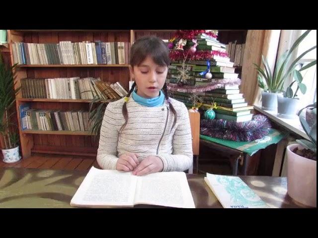 Изображение предпросмотра прочтения – НатальяСоинова читает отрывок изпроизведения «Дети подземелья» В.Г.Короленко