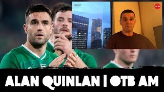 """Alan Quinlan: """"Players have to live with this"""" 
