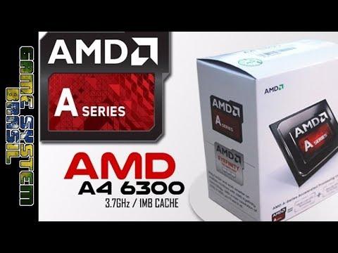A4 6300 teste da apu - PC de pobre :v