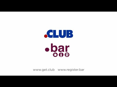 .Club and .Bar - The Perfect Domain Names for Clubs and Bars