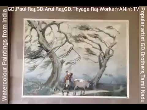 #WaterColour | WATERCOLOUR_PAINTINGS of INDIA |Amazing Watercolour Landscape |#GD_BrotherS