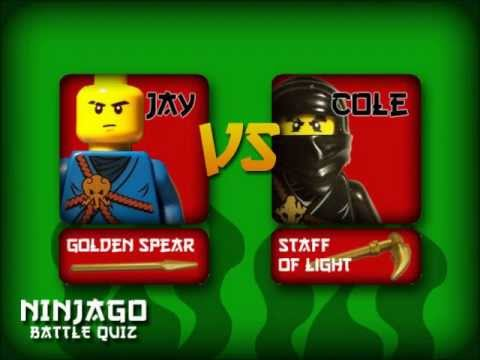 Ninjago spinjitzu battle jay vs cole youtube - Ninjago vs ninjago ...