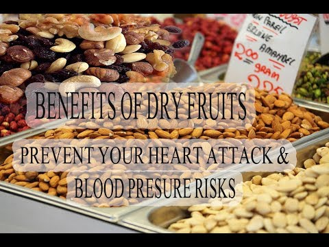 Dried fruit & NUTS  Eat dry fruits and increase your life & heart health