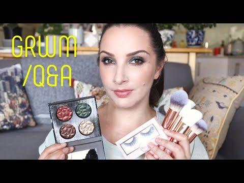 GRWM / Q&A - testing new Linda Hallberg, Quartz Beauty & Shu Uemura