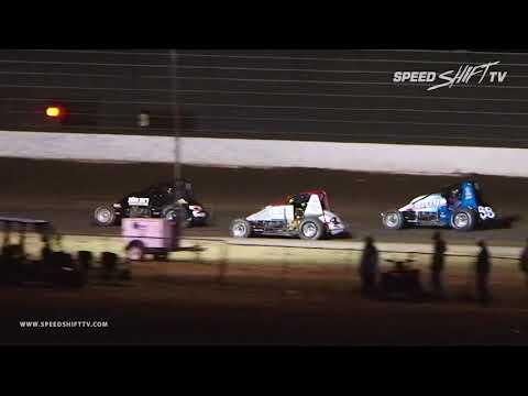 "USAC ""Louie Vermeil Classic"" Sprint Car Highlights | Calistoga Speedway 9.2.18"