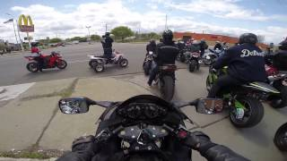 HAYABUSA CRUISING:GROUP RIDE ....ATVs,SUPERMOTOS,POCKET BIKES,STUNTS