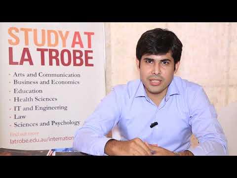 Testimonial of Usman Tahir Country Manager Pakistan - La trobe University