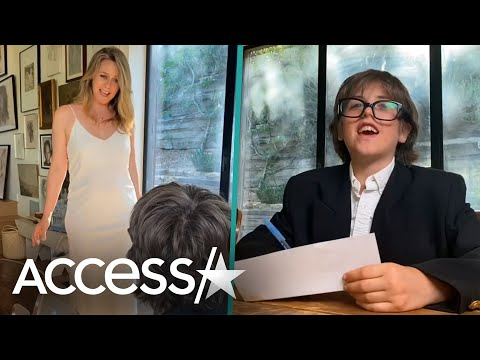 Alicia Silverstone Recreates Iconic 'Clueless' Scene w/ Son Bear