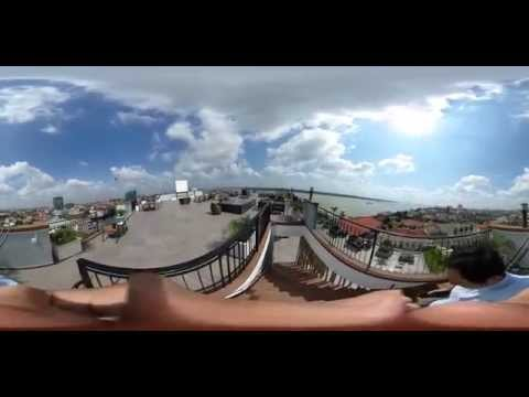 360° movie Top Floor to goowa cambodia office in dbly tower