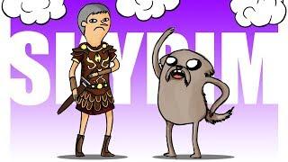 SKYRIM МУЛЬТИПЛЕЕР: ПРИКОЛЫ УПОРОТОГО МОДА! | Друзья по Skyrim #9