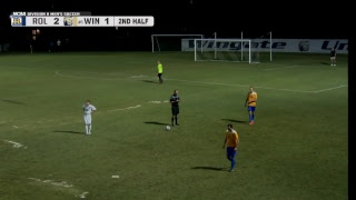 2017 NCAA Men's Soccer - Rollins vs Wingate (From Wingate, NC)