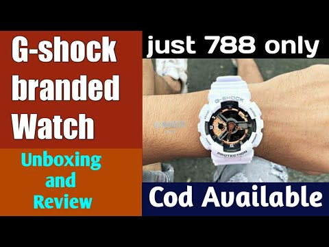 G-shock Watch Unboxing And Review | Branded Watch At Cheap Price Online | G-shock Watch