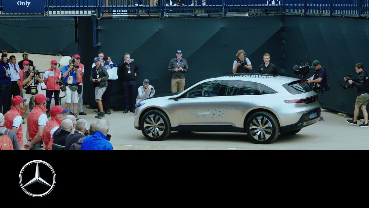 hight resolution of mercedes benz concept eq at the 147th open return of the claret jug