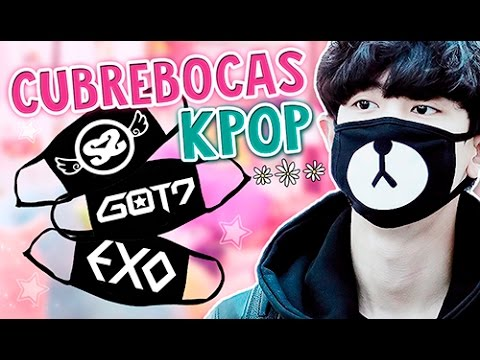 DIY KPOP ? HAZ TU PROPIO CUBREBOCAS ? BTS, EXO, GOT7, SS501, CHANYEOL ~ MOUTH MASK l Fabbi Lee
