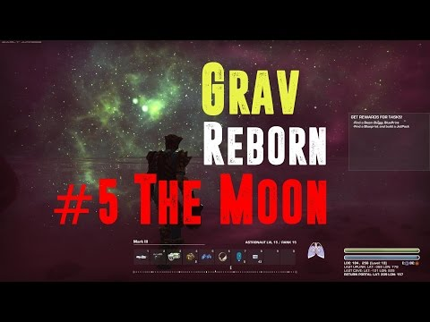 Lets Play Grav reborn: Episode 5: Lets go to the moon