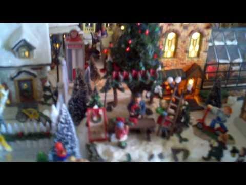 Alina Garcia's Christmas Village - 2011