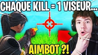 I have modified MY VISEUR for every PERSON I TUE on Fortnite... (aimbot?)