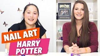 ✿ [Tuto Nail Art #9] Harry Potter avec Yoko et Emma ✿